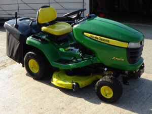 John Deere X300R Ride On Mower available at HandyCompactTractors.co.uk