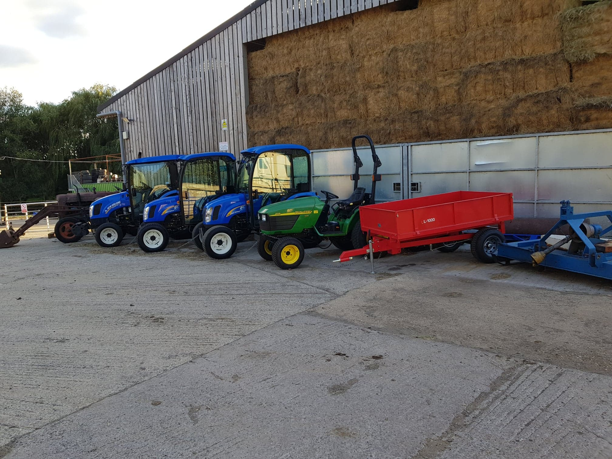 Compact Tractors and machinery for sale