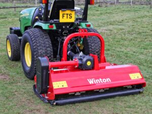 Winton Hydraulic Offset Flail Mower WHF145 1.45m