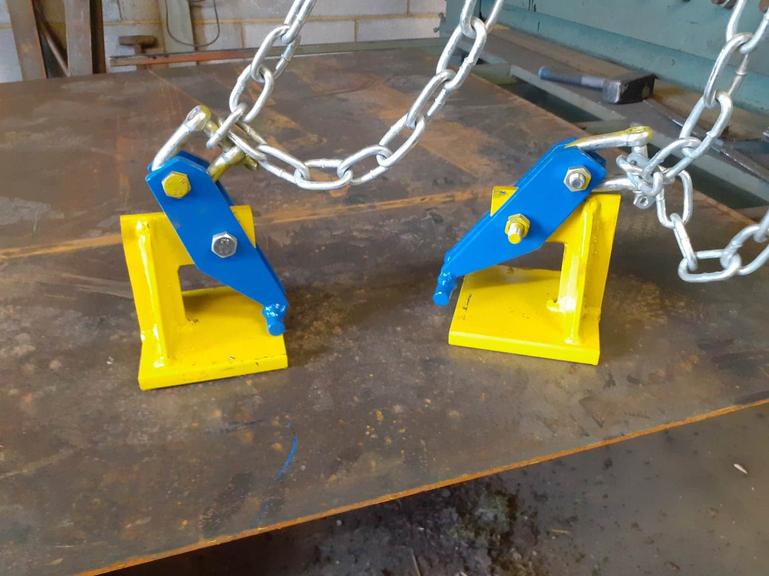 Example of our welding and fabrication service