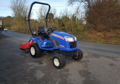 Iseki TXG237 with new Flail mower- SOLD