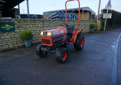 Kubota B1550 compact tractor SOLD