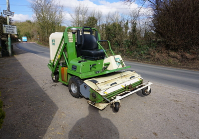 Amazone PH125, zero turn flail mower with high tip collector SOLD