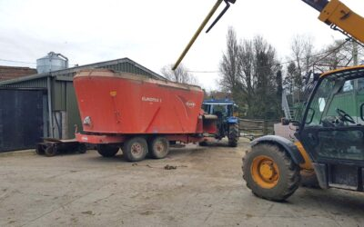 Silage Feeder Wagon Reinforcement Project
