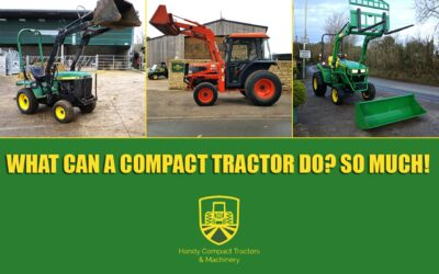 What Can A Compact Tractor Do