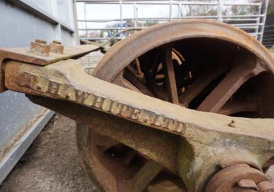 T.H.White ring roller, 8ft field/ paddock roller