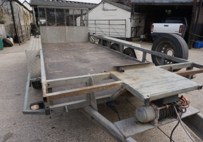 Ifor williams GP146 plant trailer with winch SOLD