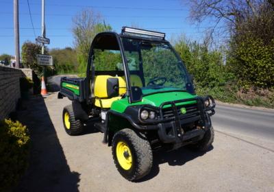 John Deere XUV855D gator, utility vehicle, diesel buggy