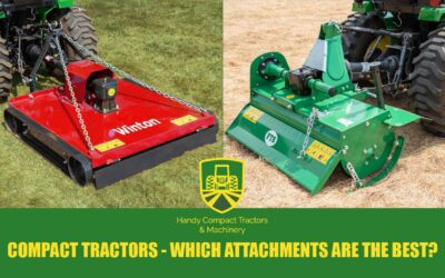 What Are The Most Useful Compact Tractor Attachments