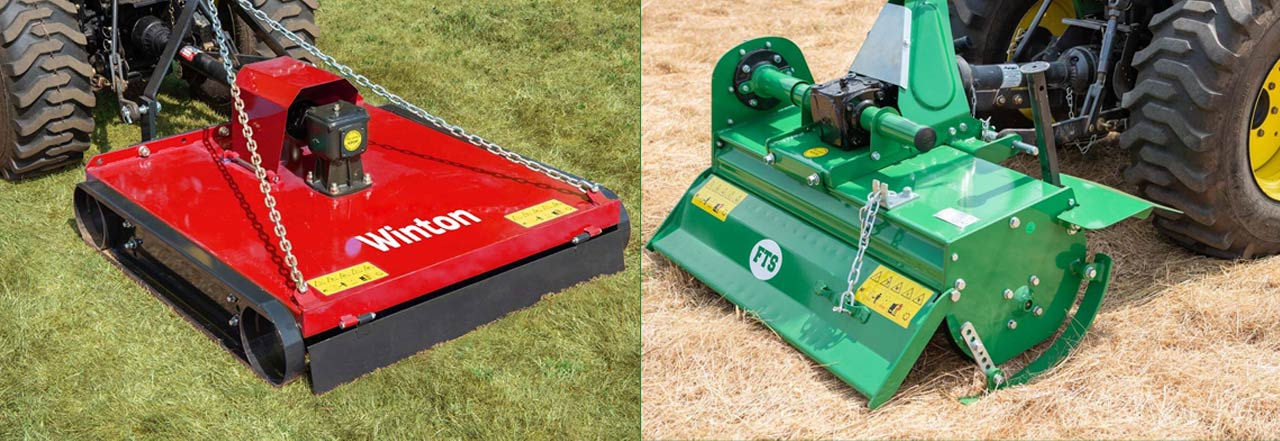 Which attachments are best for a Compact Tractor?