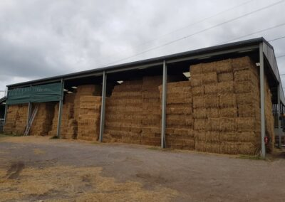 Storage shed fully stocked   HandyCompactTractors.co.uk