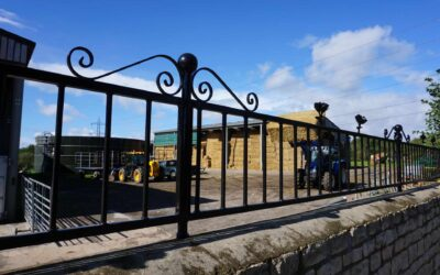 We Have A New Look To Our Entrance – Welding & Fabrication News!