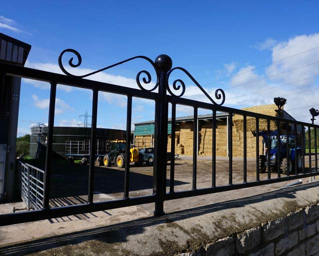 Bespoke Welding And Fabrication for Iron and Steel Railings | HandyCompactTractors.co.uk