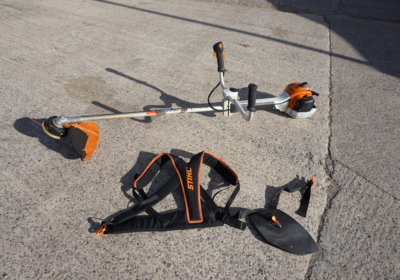 Sthil FS 410 C – M / L strimmer / brush cutter with support harness, 2021 model