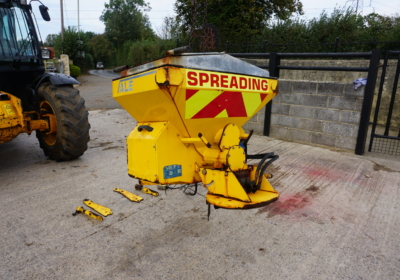 Vale MS250 salt spreader for compact tractor or small tractor
